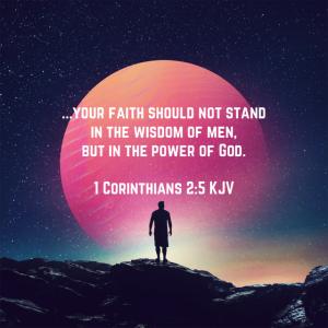 Bible verse-1Corinthians 2:5