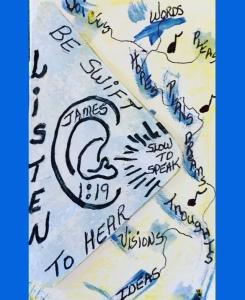 """Listening Ear"" Art by ©️LeonasDesigns 2020"