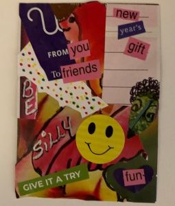 """Be Silly"" Art Card created by @LeonasDesigns"