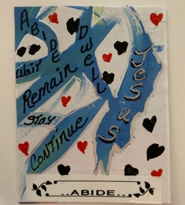 """Abide"" Art Card created by @LeonasDesigns"