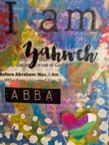 IAM, Yahweh, ABBA, art card