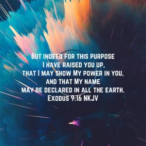 Exodus 9:16 scripture
