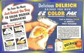 Image of margarine in a squeezable bag