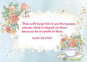 Isaiah 26:3 verse