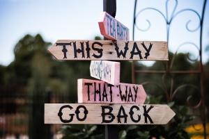 Wonderland signs
