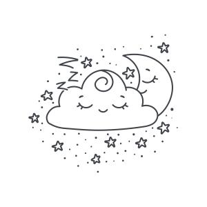 Sleeping cloud