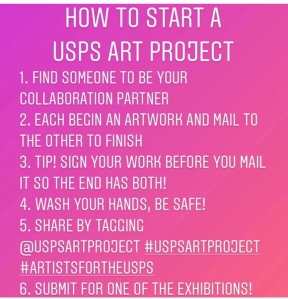 USPS Art Project info