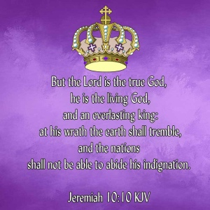 Jeremiah 10:10 scripture image